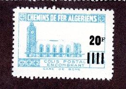 Algérie Colis Postaux  N°179a Sans Batiment Ni Surcharge N** LUXE  Cote 22 Euros !!!RARE - Colis Postaux