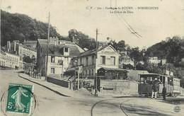 ENVIRONS DE ROUEN - Bonsecours, La Grâce De Dieu, Tramway. - Tramways