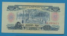 VIETNAM SOUTH  20 Xu  1966 (1975)Serie IE 085623 P# 38 Rubber Plantation - Vietnam