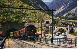 007010  Gotthardtunnel - Elektrischer Zug Der Gotthardbahn - UR Uri