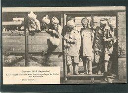 CPA - Guerre 1914 (Septembre) - Les Troupes Hindoues Vont Donner Une Leçon De Kultur Aux Allemands, Très Animé - Guerre 1914-18