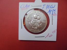 CUBA 5 PESOS 1982 ARGENT 999/1000 - Cuba