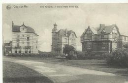 Coq-sur-mer  Villa Kerberthe Et Grand Hotel Belle Vue    (672) - De Haan