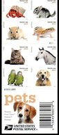 "Etats-Unis USA 4924/43 Faune, ""Pets"" - Francobolli"