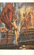 Themes Div-ref BB153- Arts - Tableaux - Peinture -  Tableau - Peintre G Bussiere -imp Lapina Paris - Au Seuil Du Reve - - Paintings