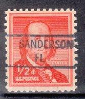 USA Precancel Vorausentwertung Preo, Locals Florida, Sanderson 841 - Vereinigte Staaten