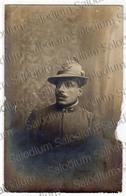 Alpino Alpini  Cartolina Fotografica - Prima Guerra Mondiale Ww1 1gm - Guerre, Militaire