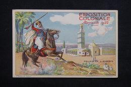 EXPOSITION - Carte Postale  - Exposition Coloniale De Marseille De 1922 , Palais De L 'Algérie - L 24647 - Expositions