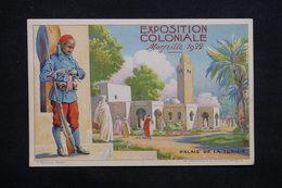 EXPOSITION - Carte Postale  - Exposition Coloniale De Marseille De 1922 , Palais De La Tunisie - L 24648 - Expositions