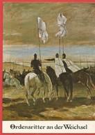 Künstlerkarte, Ordensritter An Der Weichsel, Prof. Fritz Pfuhle, Museum Münster - Histoire