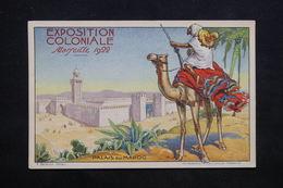 EXPOSITION - Carte Postale  - Exposition Coloniale De Marseille De 1922 , Palais Du Maroc - L 24649 - Expositions