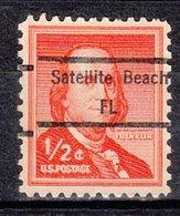 USA Precancel Vorausentwertung Preo, Locals Florida, Satelite Beach 848 - Vereinigte Staaten