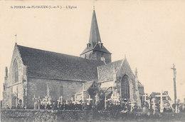 ST PIERRE De PLESGUEN : L'Eglise - France