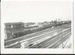 Photo - Train à Thionville - Moselle - 1954 - Treinen