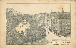 BELFORT - Hôtel Jeannin, Gspann Propriétaire. - Belfort - City