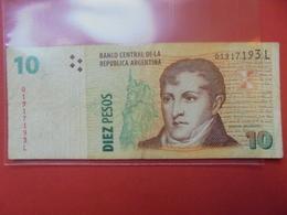 ARGENTINE 10 PESOS CIRCULER - Argentine
