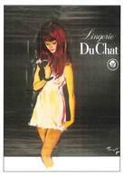 Brenot Femme Pin Up Publicité Lingerie Du Chat AFP 46 - Illustratoren & Fotografen