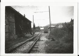 Photo - Les Rousses - Jura - Gare Des Rousses - Tirage Des Années 50 - Trains