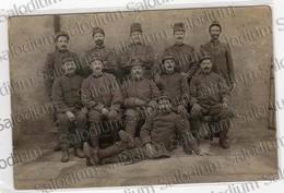1915 - Gruppo Militari - Prima Guerra Mondiale Ww1 1gm - Militare -  Cartolina Fotografica Esercito - Guerre, Militaire
