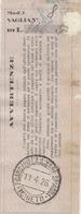 Francavilla A Mare. 1931. Annullo Guller FRANCAVILLA A MARE SPIAGGIA (CHIETI), Su Ricevuta Vaglia - 1900-44 Victor Emmanuel III