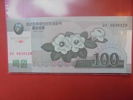 COREE(NORD) 100 WON 2008 NEUF - Corée Du Nord