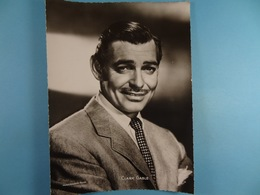 Clark Gable (Format 16,5 Cm X 22,5 Cm) Chocolaterie Clovis Pepinster - Personalidades Famosas