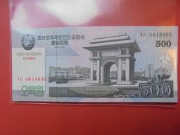 COREE(NORD) 500 WON 2008 NEUF - Corée Du Nord