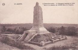 CPA. EN ARGONNE. LA HAUTE CHEVAUCHEE. LE MONUMENT DOMINANT LA FORËT ELEVE A LA MEMOIRE DES 150 000 HEROS DE L'ARGONNE. - Monuments Aux Morts