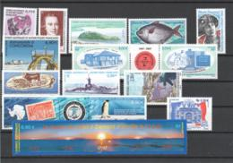 TAAF Année Complète 2007 Timbres Neufs ** - French Southern And Antarctic Territories (TAAF)