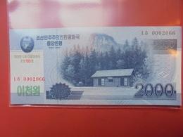 COREE(NORD) 2000 WON 2008 NEUF - Corée Du Nord