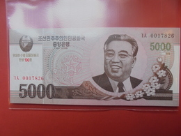 COREE(NORD) 5000 WON 2008 NEUF - Corée Du Nord