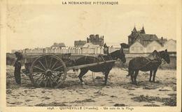 50 - Quineville - Un Coin De Plage (attelages) - Other Municipalities
