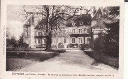 CPA 86 -- MONTAMISE  Par POITIERS -- Le Château De La Roche De Bran - France