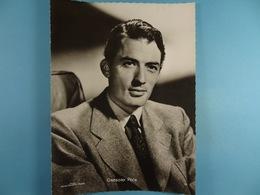 Gregory Peck (Format 16,5 Cm X 22,5 Cm) Chocolaterie Clovis Pepinster - Personalidades Famosas