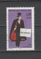 "FRANCE / 1996 / Y&T N° 3025 : ""Héros De Roman Policier"" (Rocambole) - Choisi - Cachet Rond - France"