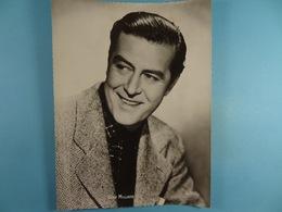 Ray Milland (Format 16,5 Cm X 22,5 Cm) Chocolaterie Clovis Pepinster - Personalidades Famosas