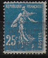 RARE SEMEUSE FAUX Pour SERVIR  - YVERT N° 140 OBLITERE MECA EXPO INTERN. ARTS DECO. - 1906-38 Sower - Cameo