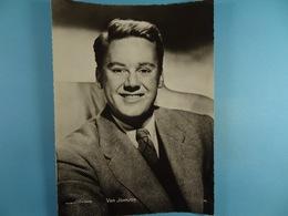 Van Johnson (Format 16,5 Cm X 22,5 Cm) Chocolaterie Clovis Pepinster - Personalidades Famosas