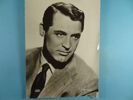 Cary Grant (Format 16,5 Cm X 22,5 Cm) Chocolaterie Clovis Pepinster - Personalidades Famosas