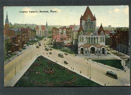 CPA - BOSTON - Copley Square, Animé - Boston