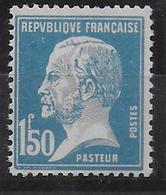 PASTEUR FAUX De MARSEILLE  - YVERT N° 181 ** MNH - COTE MAURY 2009 = 55 EUR - 1922-26 Pasteur