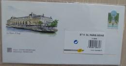 Lot De 5 Enveloppes Prêt à Poster Illustrées + 5 Cartes De Correspondance Assorties - PARIS SEINE - PAP : Altri (1995-...)