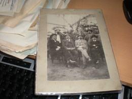 Old Cardboard  Kongres Srpske Socialdemokratske Partije 1909 Frantisek Soukup,Anton Nemec, Dr Karl Rener, Etbin Kristan. - Berühmtheiten