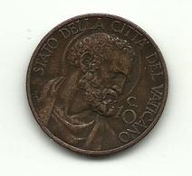 1934 - Vaticano 10 Centesimi - Vatikan