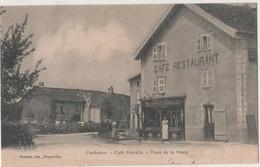 CPA 70. Corbenay. Place De La Poste. Café Vairelle - France