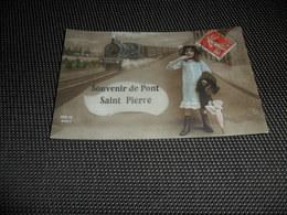 France  Souvenir De Pont Saint Pierre  Train - France