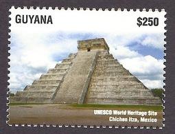 Guyana 2015 Unesco - World Heritage Sites, Chichen Itza (Mexico) Historical Monuments MNH - Guyane (1966-...)