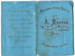 A ROUYER  N°155-Dessins Pour Ouvrages Pour Dames      RARE - Loisirs Créatifs