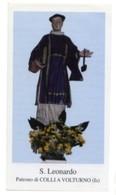 Colli A Volturno IS - Santino SAN LEONARDO ABATE - PERFETTO P86 - Religione & Esoterismo