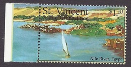 St. Vincent & The Grenadines 1995 - The Greatness Of Nature, Landscapes, Scenery, Nile River, Riviere (Egypt) MNH - St.Vincent & Grenadines